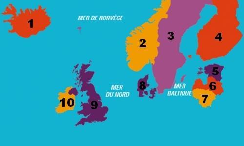 Carte Europe Du Sud Est.Carte D Europe Tous Les Pays Europeens Sur Notre Europe Carte